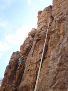Rock Climbing Photo: This climb included my first chimney. This was my ...