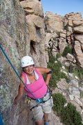 Rock Climbing Photo: taking a break on Obscure Rock