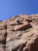 Rock Climbing Photo: Cindy on Tailwinds.