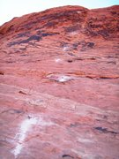 Rock Climbing Photo: Looking up at P3