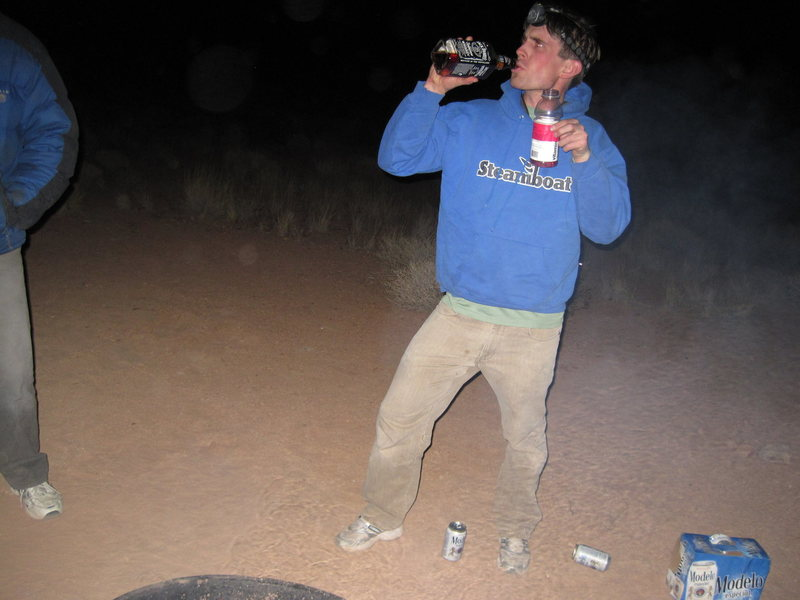 Rock Climbing Photo: Ya ever find yourself drinking whiskey and concern...