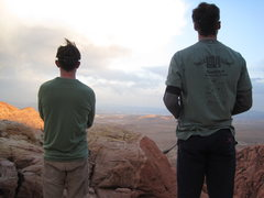 Rock Climbing Photo: Post-climb trail run.  Nothing matches sandstone f...