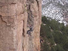 Rock Climbing Photo: Falling.