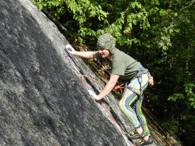 Rock Climbing Photo: Jim thinks it's Brilliant!