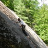 Jonathan moving into the upper groove...