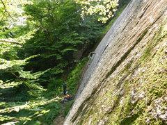 Rock Climbing Photo: Jim on Elvis....