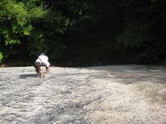 Rock Climbing Photo: Jon on LSDY