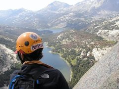Rock Climbing Photo: wind rivers on haystack minor dihedral
