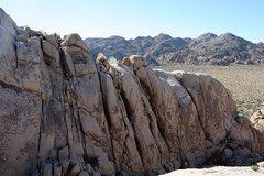 Rock Climbing Photo: Rock Garden Valley - Left Side, Joshua Tree NP