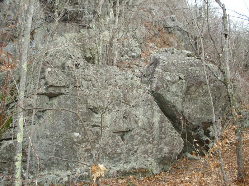 The big boulders