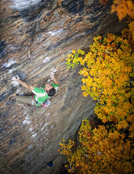 Rock Climbing Photo: 'The Infidel' at Funk Rock City