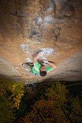 Rock Climbing Photo: 'Orange Juice' at Funk Rock City