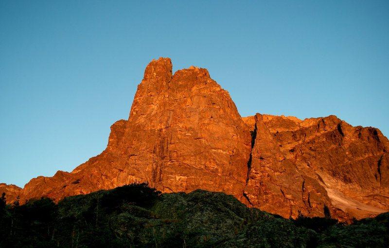 Rock Climbing Photo: Notchtop RMNP