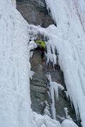Rock Climbing Photo: Mixed climbing, TR Greenbay, WI
