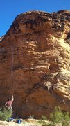 Rock Climbing Photo: Pigsty on the left (TR) and Pearls Before Swine on...