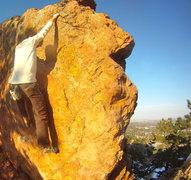 Rock Climbing Photo: Paul Stover keepin' it Classy.