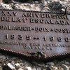 Memorial plaque on Cavall Bernat