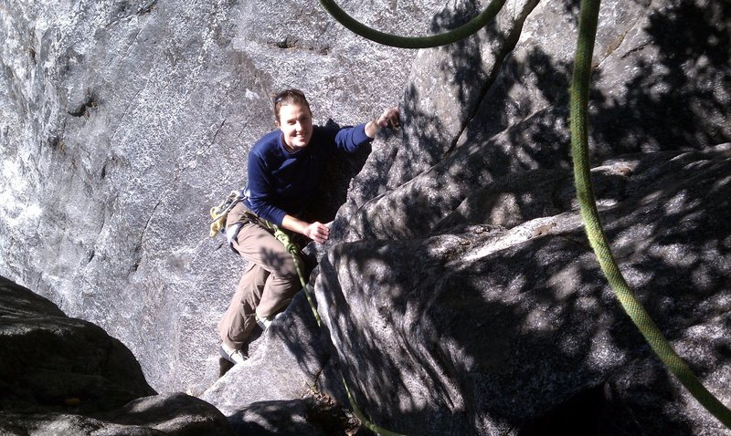 Rock Climbing Photo: Boysen strolling along.
