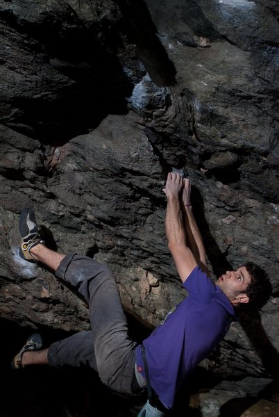 """Aaron James Parlier on the 2nd ascent of """"SLS"""""""