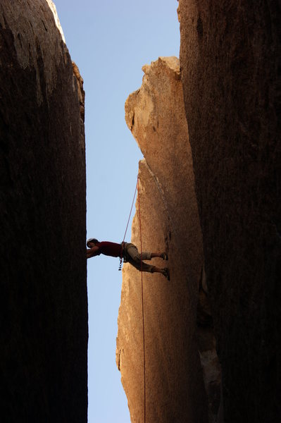 Rock Climbing Photo: press!
