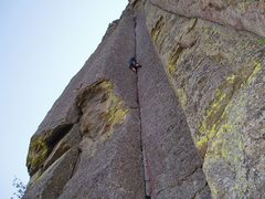 Rock Climbing Photo: Me on Assembly Line