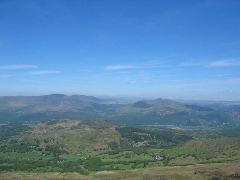 Rock Climbing Photo: Looking north to the main hills of Snowdonia from ...