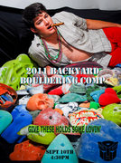Rock Climbing Photo: The Backyard Bouldering Comp 2011 Poster. Potentia...