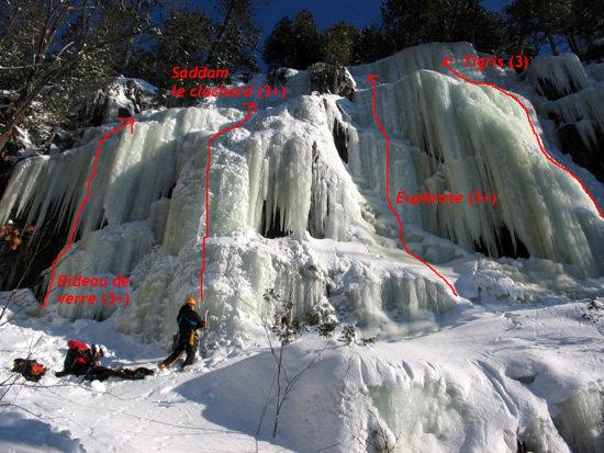 Rock Climbing Photo: photo by: Nicolas Raoult lesitebrun.com/glace/tran...