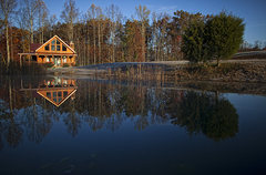 Rock Climbing Photo: Red River Gorge cabin