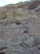 Rock Climbing Photo: Albuquerque, NM, Sandias  Sorcerers Apprentice.