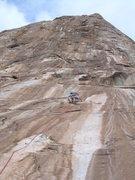 Rock Climbing Photo: Soloing is fun!