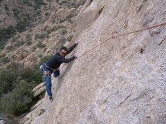 Rock Climbing Photo: Mad Cow