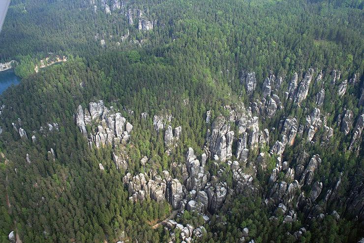 Rock Climbing Photo: Aerial photo