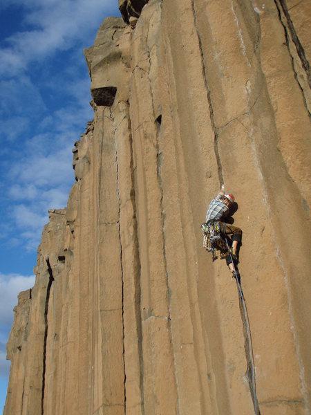 Rock Climbing Photo: Halloween fun on Gold Rush