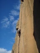 Rock Climbing Photo: Getting into the Gold