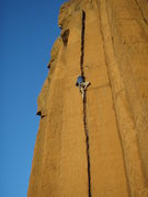 Rock Climbing Photo: Momentary reprieve...