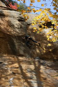Rock Climbing Photo: Mike Bankoff makin' it happen!  This is easily the...