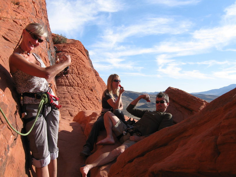 Rock Climbing Photo: All feeling strong on The Panty Wall craggin day i...