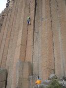 Rock Climbing Photo: JR on Halloween