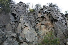 Rock Climbing Photo: The main wall, Minnesota strip
