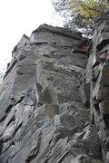 Rock Climbing Photo: Looking up at Jammemister