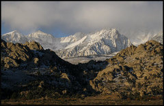 Rock Climbing Photo: November Morning-Buttermilk Country. Photo by Blit...