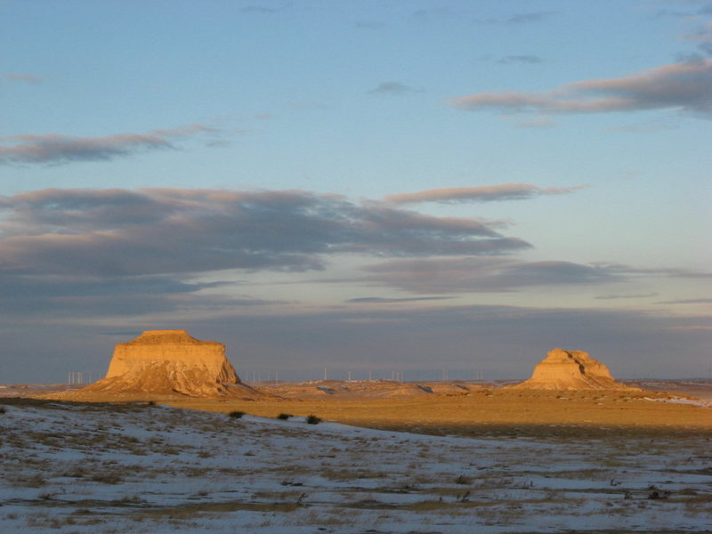 Rock Climbing Photo: The Buttes.