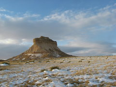 Rock Climbing Photo: West Pawnee Butte.