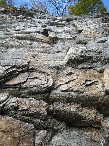 Rock Climbing Photo: start of P2