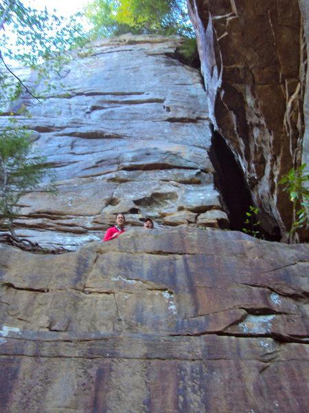 Rock Climbing Photo: The Wall