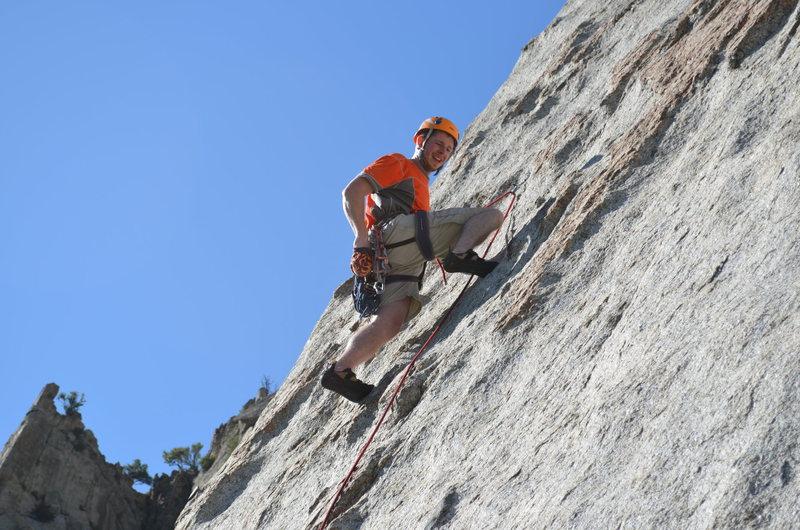 """Climbing """"Leggo My Eggo"""""""