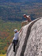 Rock Climbing Photo: Topping off