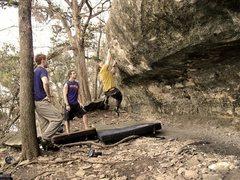 Rock Climbing Photo: Abash