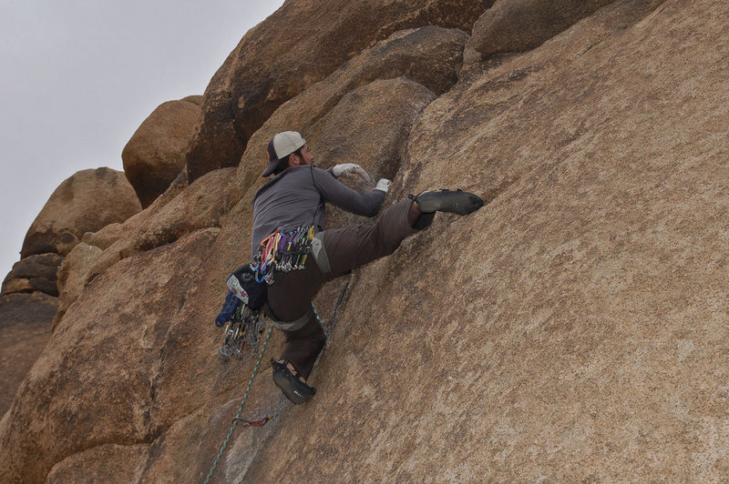 Rock Climbing Photo: Right V Crack Photo by Brian Cooper